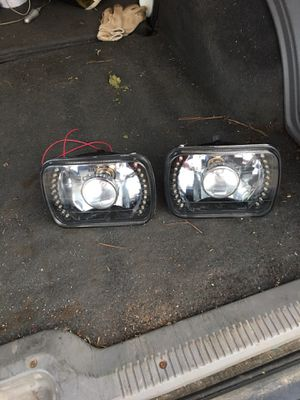 Jeep cherokee LED headlights for Sale in Yanceyville, NC