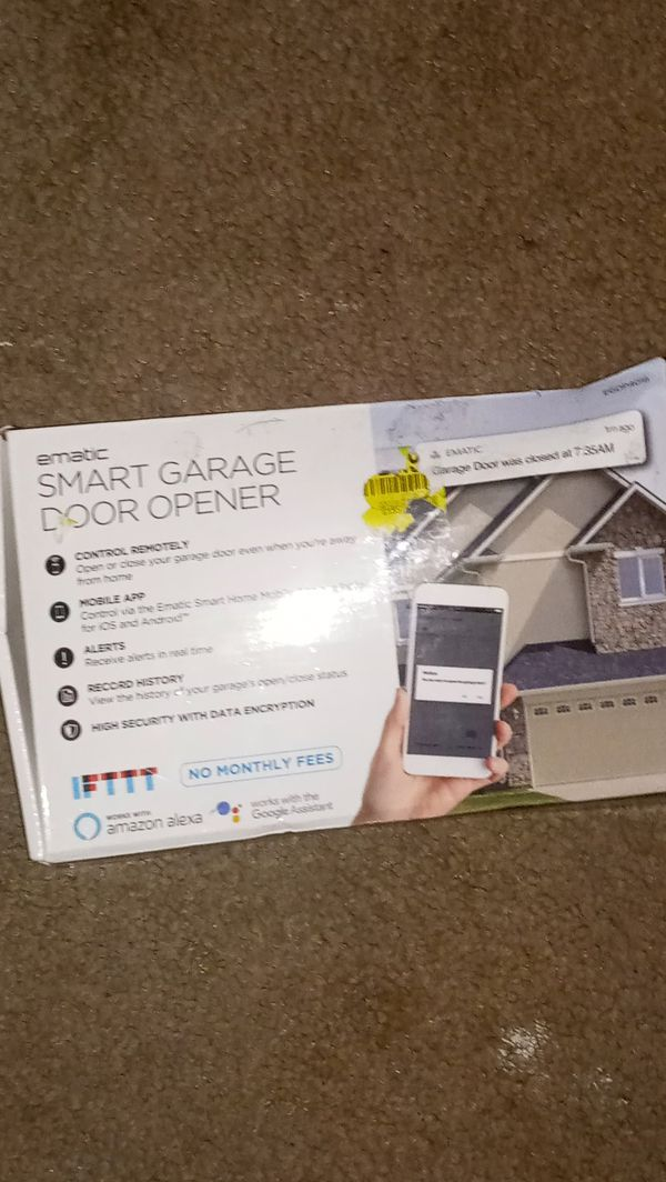 Ematic Smart Garage Door Opener