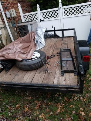 Trailer 5x8 heavy duty with title for Sale in Nottingham, MD