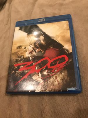 """""""300"""" blu Ray movie, tested and works perfectly, excellent condition Just $4 plus $3 to ship or Pickup Acton ma for Sale in Westford, MA"""