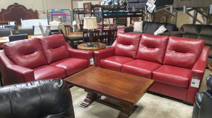 LEATHER SOFA AND LOVESEAT SET BRAND NEW for Sale in Portland, OR