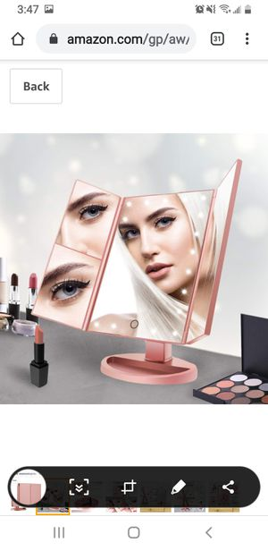 Makeup Vanity Mirror with Lights for Sale in Miami Beach, FL