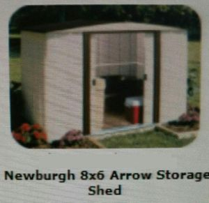 Garden Shed steel, 6 feet by 8 feet, new for Sale in Columbus, OH