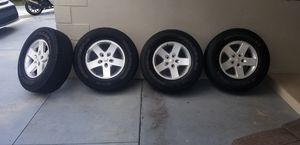 Rim and tires Jeep Wrangle for Sale in Pembroke Pines, FL