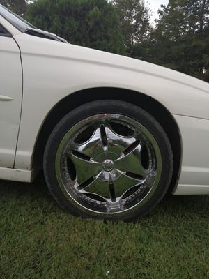 20 inch rims with tires for Sale in Gallipolis, OH