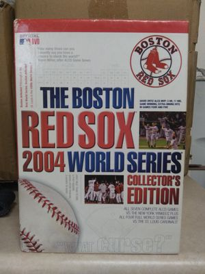 Collectors baseball-2004 world series set dvd for Sale in Phoenix, AZ