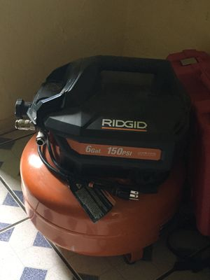 Ridgid 6 gal 150 psi for Sale in Oakland Park, FL