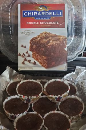 "GHIRARDELLI double chocolate ""Special"" brownies for Sale in Hayward, CA"