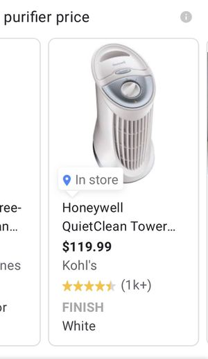 Honeywell purifier for Sale in Snellville, GA
