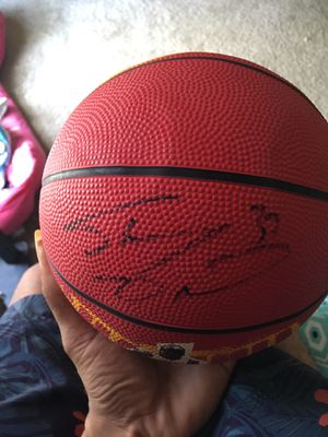 Autograph Miami heat ball signed by Shaq and DWade for Sale in Henrico, VA
