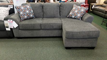 Reversible Sofa Chaise- Slate for Sale in Carnegie,  PA
