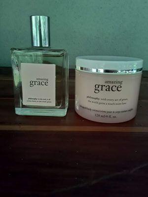 Authentic Amazing Grace fragrance with matching lotion for Sale in Oldsmar, FL