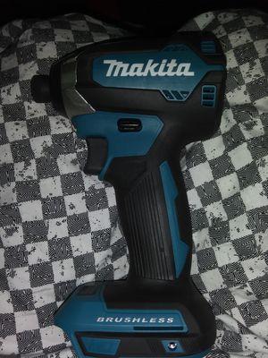 "Makita brushless 18v 1/4"" impact driver for Sale in San Antonio, TX"