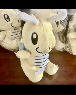 NWT Dragonite Pokemon Plush Doll Stuffed Animal for Sale in Yucca Valley, CA