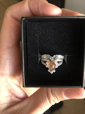Wedding and engagement ring set for Sale in Las Vegas, NV