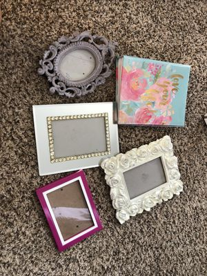 Picture frames and picture album for Sale in Scottsdale, AZ