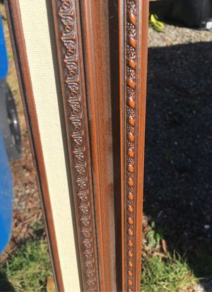 """Wood picture frame. Never used 23.5"""" by 35"""" for Sale in Kent, WA"""