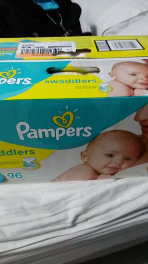 Size 1 Pampers swaddlers 96 count for Sale in Dallas, TX