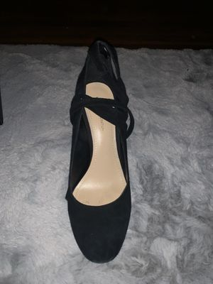 BCBGeneration Black Tie-Up Heels for Sale in Baltimore, MD