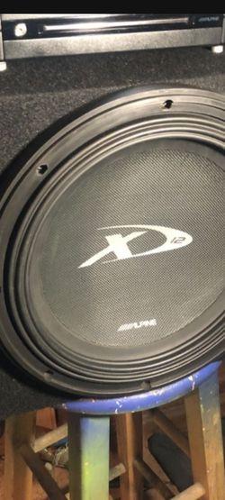 Alpine XD12 for Sale in Whittier,  CA