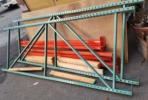 2 Industrial metal shelving for business or warehouse for Sale in Oakland, CA
