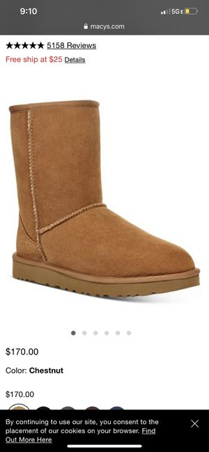 Chestnut uggs brand new size 10 women for Sale in Parma Heights, OH