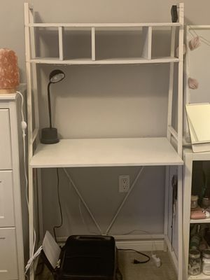 SELLING DESK, DESK LAMP, AND PRINTER for Sale in Torrance, CA