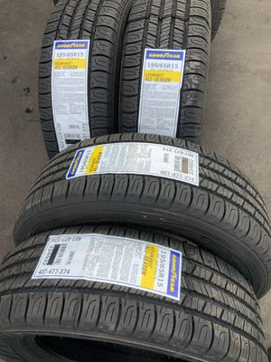 195/65/15 SET OF 4 NEW TIRES GOODYEAR ASSURANCE ALL SEASON for Sale in Los Angeles, CA