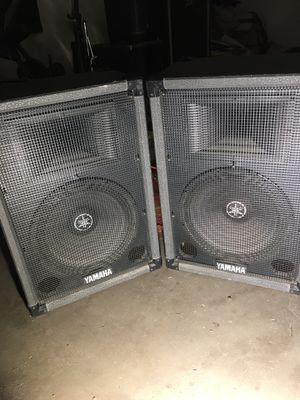 Yamaha Speakers DJ equipment model S115H for Sale in Phoenix, AZ