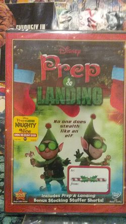 Disney prep & landing dvd brand new factory sealed just in time for Christmas!!! for Sale in Yakima,  WA
