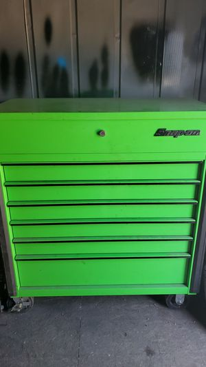 6 drawer snap on tool box for Sale in Highland, CA