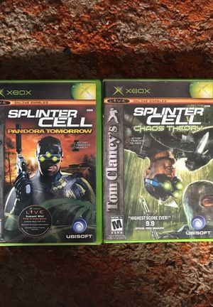 Splinter Cell Games for Sale in San Diego, CA