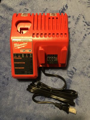 Milwaukee M12 & M18 Battery Charger. New! for Sale in Mundelein, IL