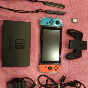 Nintendo switch With All Attachments and Pokemon sword for Sale in Miami Gardens, FL