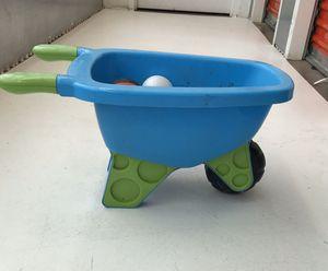 Toddler garden wheelbarrow for Sale in Manassas, VA