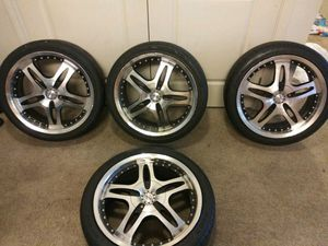 """Rox """"18 rims with tires 5 lug for Sale in Seattle, WA"""