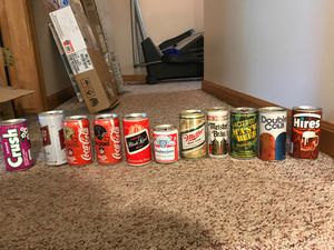 Collectible Vintage Beer and Soda Cans for Sale in Nichols, NY
