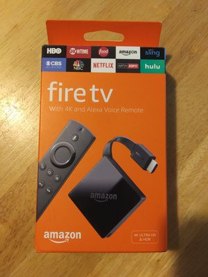 4k fire tv (3rd generation) for Sale in Land O Lakes, FL