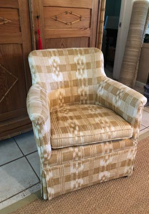Antique Boudoir Chair/ custom Braunschweig & Fils Upholstry for Sale in Sarasota, FL