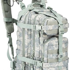 30L 30 Liter Tactical Military Army Rucksack Molle Backpack Waterproof Camping Outdoor Hiking Trekking Travaling Bag for Sale in Ontario, CA
