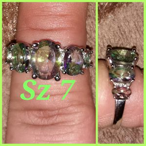 Sterling silver-mystic topaz for Sale in Glen Burnie, MD