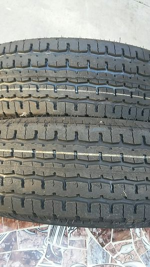 4 new Trailer Tires ST 225/75/15..Superax for Sale in Palmdale, CA