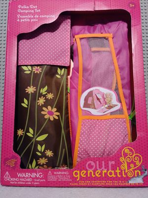 polka dot camping set for Sale in Los Angeles, CA