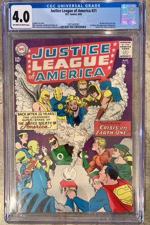 Justice League of America #21-22 (CGC 4.0) 1st JLA meets JSA for Sale for sale  Gilbert, AZ