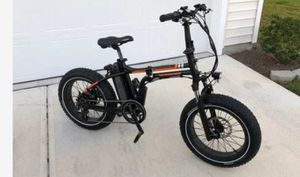 {url removed} radmini electric fat tire bicycle 2 weeks old barley ridden for Sale in San Diego, CA