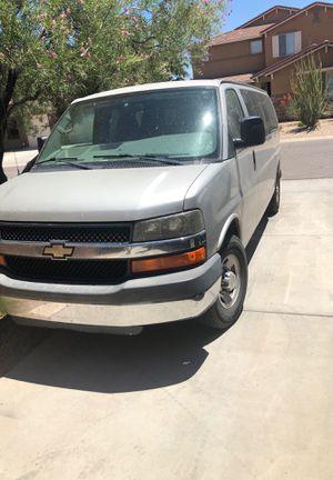 2009 Chevy Express 3500 Extended 15 passenger Van for Sale in Queen Creek, AZ