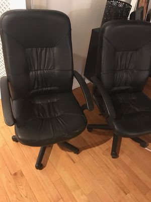 Leather Desk Chair for Sale in New York, NY