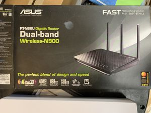 Asus WiFi Router RT-N66U Dark Night for Sale in Scottsdale, AZ