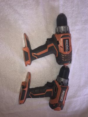 RIDGID 18-Volt Lithium-Ion Cordless 2-Speed 1/2 in. Compact Drill/Driver for Sale in Palmdale, CA
