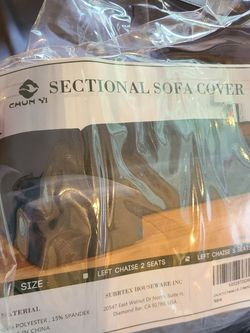 Sectional Sofa Cover for Sale in Issaquah,  WA